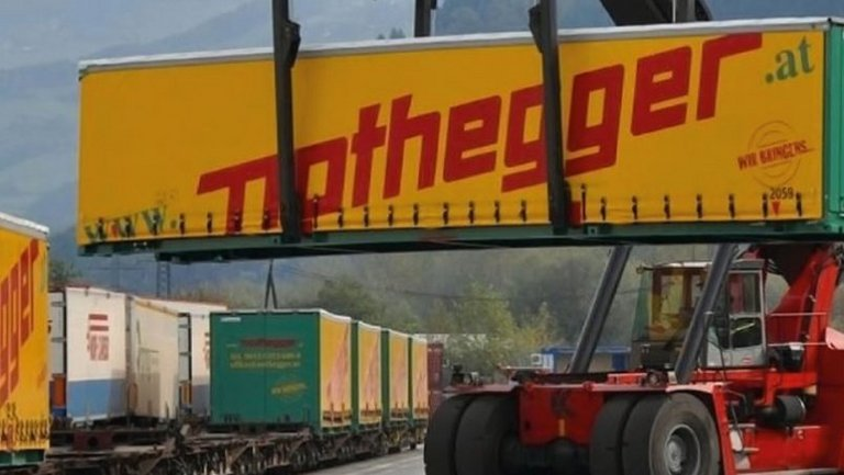 Intermodal-Transporte für Nothegger als Success-Story